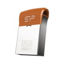 Silicon Power 128GB J35 USB3.0 barna Pendrive