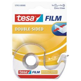 Tesa Tesafilm 12 mm x 7,5 m kétoldalas ragasztószalag adagolón