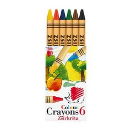 """ICO """"Süni"""" 6 különböző színű zsírkréta"""
