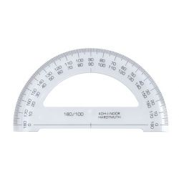 KOH-I-NOOR 180 °-os műanyag szögmérő
