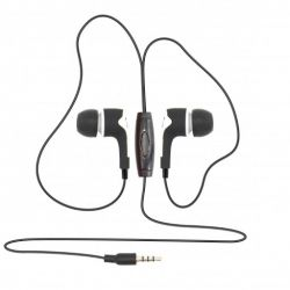 Sbox EP-791W mikrofonnal, fehér fülhallgató