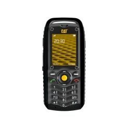 Caterpillar B25 dual mobiltelefon (fekete)