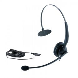 Yealink YHS33 Call Center RJ9 fekete mono headset