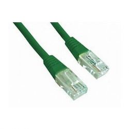 Gembird UTP kat.5e RJ45 patch kábel, 0.5m, zöld