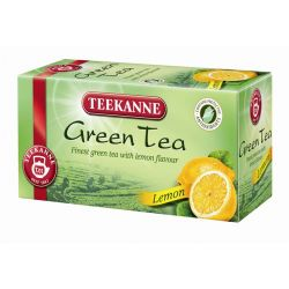 Teekanne citrom 20x1,75g filteres zöld tea