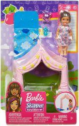 Mattel Barbie bébiszitter kiegészítő szett pizsama parti