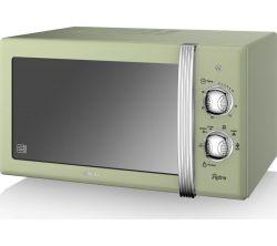 Swan SM22130GN 20l 800W zöld mikrohullámú sütő