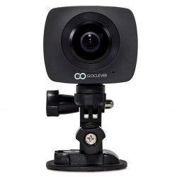 GoClever Extreme 360 Smart - két lencsés 360 fokos fekete kamera