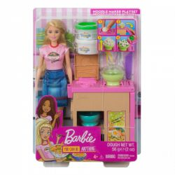 Mattel Barbie You Can Be Anything különleges tésztabár babával