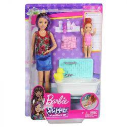 Mattel Barbie Skipper fürdető bébiszitter játékszett