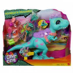 Mattel Cave Club Rockelle + Tyrasaurus játékszett