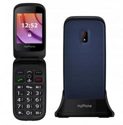 "myPhone Twist 2,4"" 32MB Single SIM 2G kék mobiltelefon"