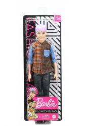 Mattel Barbie (DWK44/GYB05) Fashionistas Ken Lila hajjal