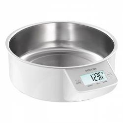 Sencor SKS 4030WH 5kg fehér konyhai mérleg
