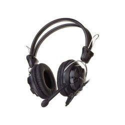 A4-Tech HS 28 Jack fekete mikrofonos fejhallgató