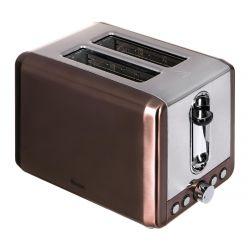 Swan Copper 900W 2 szeletes barna kenyérpirító