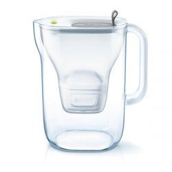 Brita Style MX Plus 2.4L szürke víztisztító kancsó