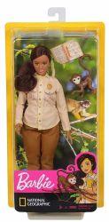 Mattel Barbie National Geographic vadvilági természetvédő baba