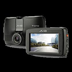 "Mio MiVue 733 Wi-Fi 2,7"" fekete autós kamera"