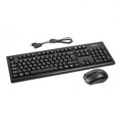 A4-Tech 3000N (GK-85+G3-200N) fekete billentyű + egér