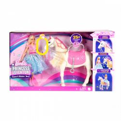 Mattel Barbie Princess Adventure - varázslatos paripa hercegnővel
