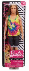 Mattel Barbie Fashionistas hosszú hajú Ken baba