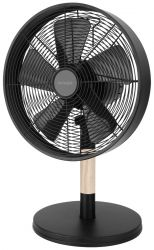 Activejet Selected WBS-30CD 35W fém/gumifa fekete asztali ventilátor