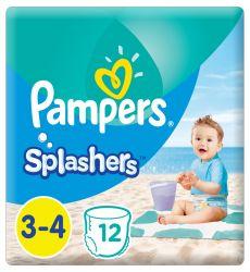 Pampers Splashers 3-4-es 12 darabos pelenka
