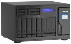 QNAP TVS-h1288X-W1250-16G 12 fiókos NAS szerver