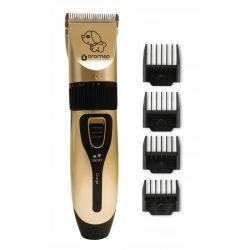 Oro-med Oro-Pet USB arany/fekete állatnyíró
