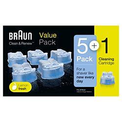 Braun Clean & Renew 5+1 kék tisztítópatron