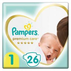 Pampers Premium Care 1-es 26 darabos pelenka