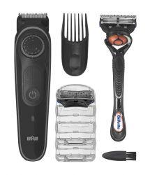 Braun Beard Trimmer BT5242 fekete/szürke haj és szakállvágó