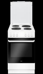 Amica 58EE1.20W 7.8kWh 4 zónás fehér elektromos tűzhely
