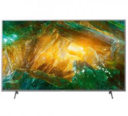 "Sony KE55XH8077SAEP 55"" 4K UHD Smart LED Android fekete televízió"