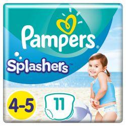 Pampers Splasher 4-5-ös 11 darabos pelenka