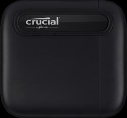 Crucial X6 500GB USB-C 3.1 Gen-2 fekete külső SSD