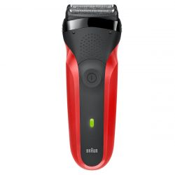 Braun Series 3 300s fekete/piros férfi borotva