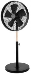 Activejet Selected WSS-130CD 50W fém/gumifa fekete álló ventilátor