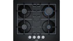 Bosch PNP6B6B90 7500W 4-zónás fekete beépíthető gáz főzőlap