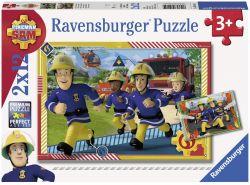 Ravensburger 05015 Sam és a csapat 2x12 darabos puzzle