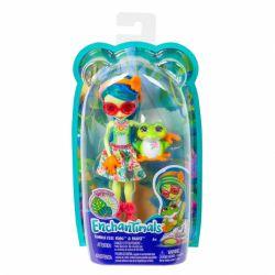 Mattel Enchantimals - Tamika Tee Frog és Burst baba állatkával