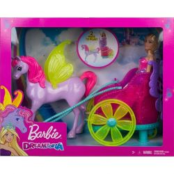 Mattel Barbie Dreamtopia mesés fogat hercegnővel
