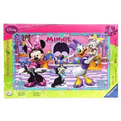 Ravensburger 060498 Minnie egér 15 darabos puzzle