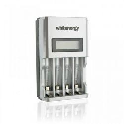 Whitenergy 4AA/4AAA 1800mA gyors LCD töltő