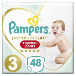 Pampers Premium Care Pants 3 (48 db-os) pelenka csomag