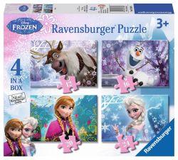 Ravensburger 07360 Jégvarázs 4 az 1-ben puzzle