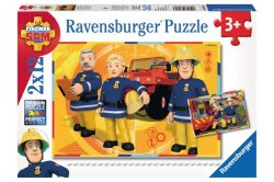 Ravensburger 07584 Sam a tűzoltó 2x12 darabos puzzle