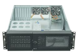 Chieftec UNC-310A-B, PSU 400W PSU (PSF-400B) fém szerver ház