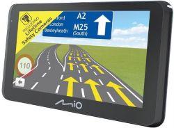 """Mio Spirit 8500 LM 6,2"""" teljes Európa GPS fekete autós navigáció"""